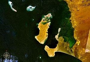 Kamaran - Kamaran seen from space