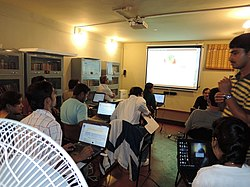 KannadaWikipediaWorkshopSuchitra 011.jpg