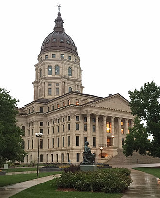 Kansas State Capitol - The Statehouse as of 2015