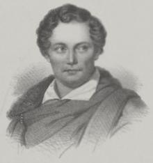 Lithograph of Karl Adam Bader (Source: Wikimedia)