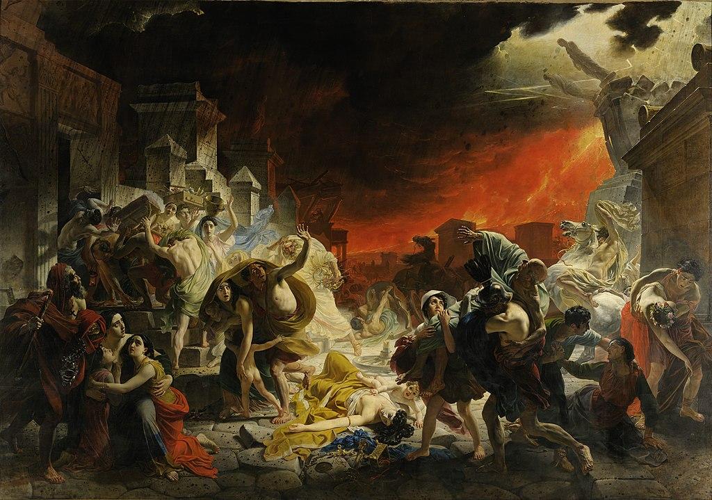 """""""The Last Day of Pompeii"""" by Karl Bryullov"""