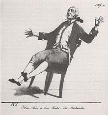 Karl Flerx in dem Ballett Der Mechanikus von Peter Crux (Quelle: Wikimedia)