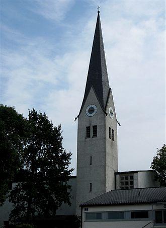 Großkarolinenfeld - Catholic church