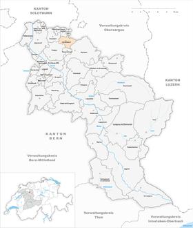 Map of Alchenstorf