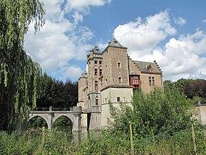 Sint-Michiels - Image: Kasteel Tillegem 2