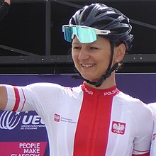 Katarzyna Pawłowska - 2018 UEC European Road Cycling Championships (Women's road race).jpg