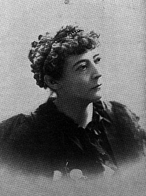 Kit Coleman - Coleman, circa 1896