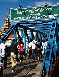Kawthaung Town in Tanintharyi Region, Myanmar