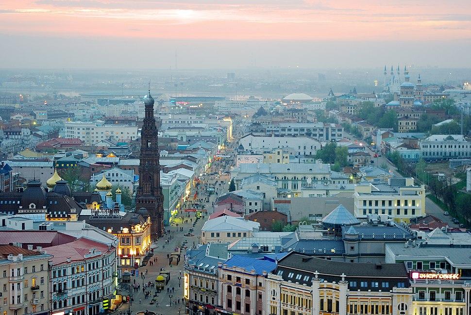 Kazan, Baumana street - panoramio