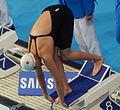 Kazan 2015 - Chantal van Landeghem 50m freestyle final.jpg
