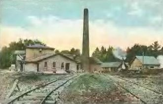 Bartlett, New Hampshire - Kearsarge Peg Mill c. 1910