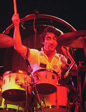 A Tale of Two Springfields - Drummer Keith Moon, who died in 1978, is in The Who's line-up in this episode