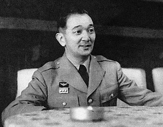 Keizō Hayashi - General Hayashi as Chairman of the Joint Staff Council in 1954