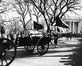 Kennedy funeral procession leaves White House, 25 November 1963.jpg