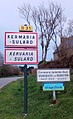 Kermaria-Sulard. Panneau d'agglomération.jpg
