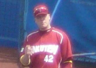 Kevin Witt - Witt with the Tohoku Rakuten Golden Eagles in 2007