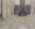 Khnopff - In Brügge, Eine Kirche - 1904.jpeg