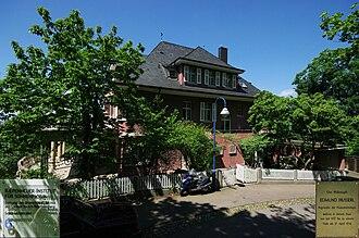 Edmund Husserl - The Kiepenheuer Institute for Solar Physics in Freiburg, Husserl's home 1916 -1937