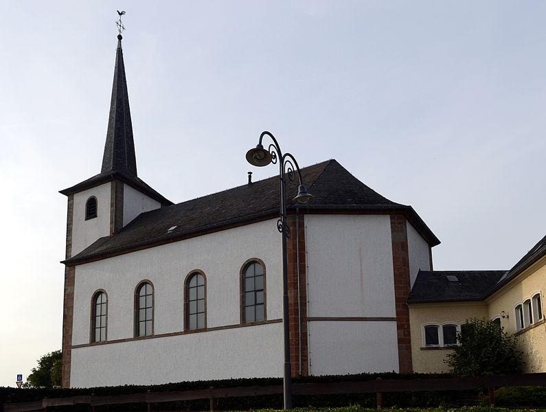 D'Méchelskierch zu Buerschent.