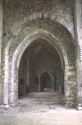 Transept - South transept at Kilcooly Abbey, County Tipperary, Ireland