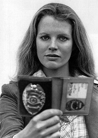 Kim Basinger - Basinger as Officer J.Z. Kane in ABC television series Dog and Cat (1977)
