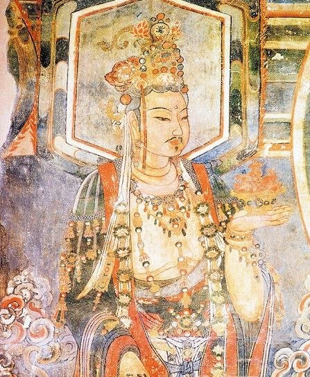 Kin Dynasty (1115-1234) fresco in Ch'ung-fu Temple, Shuo-chou 1