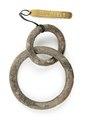 Kinesiska bronringar till hästmundering - Hallwylska museet - 98662.tif