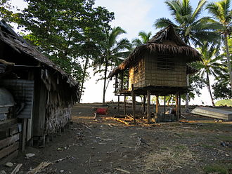 Makira - Image: Kirakira Local Dwellings
