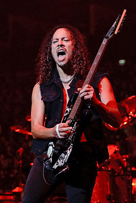 Kirk Hammett live in London 15 September 2008.jpg