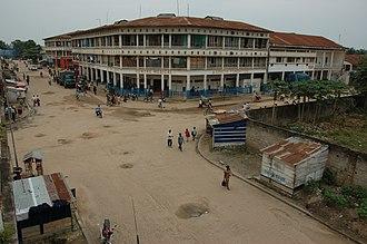 Kisangani - Image: Kisangani water front