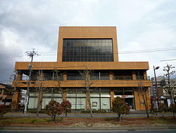 KitaiseUeno Shinkin Bank Head Office 20100103.jpg