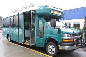 Arlington Transit - a Kitsap Transit Arboc Spirit of Mobility