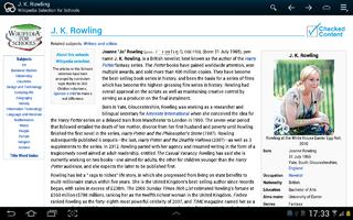 Kiwix offline Wikipedia reader