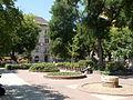 Klauzál Square's Park. From East. - Budapest District VII. Klauzál Square.JPG