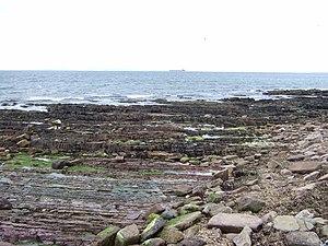 Knocking Stone shoreline To the east of John o...