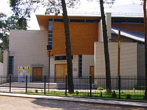 Józefów - Image: Kościół Jana Chrzciciela w Józefowie