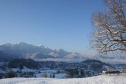 View of Kochel village
