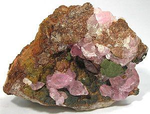 Kolwezi - Image: Kolwezite Calcite 166638