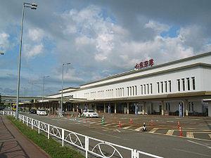 Komatsu Airport - Image: Komatsu airport terminal building