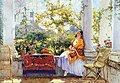 Konstantin Gorbatov - The Artist's Wife on the Veranda.jpg