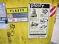 Kontejner na plast, Topolová, označení.jpg