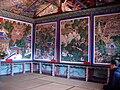 Korea-Busan-Beomeosa Palsangjeon paintings 6270-07.JPG