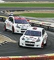 Kovalainen and Schumacher - 2007 Race of Champions 2-2.jpg