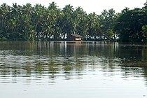 Kovalam, Karamana River.jpg