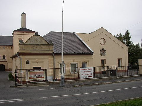 Building of a former brewery