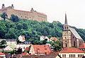 Kulmbach, Petrikirche, Plassenburg, 23.07.95 (02).jpg