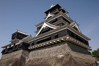 Kumamoto Castle - Image: Kumamoto Castle 05n 3200
