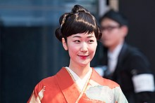 Kuroki Haru at Opening Ceremony of the Tokyo International Film Festival 2016 (32799247984).jpg