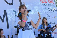 Kylee at 2012 J-Pop Summit Festival