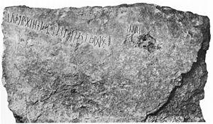 Kylver Stone - The Kylver stone.